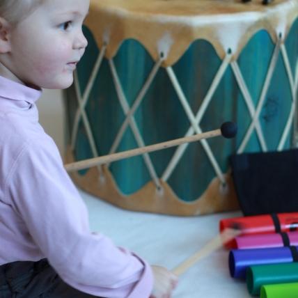 Klangarbeit mit Kleinkindern